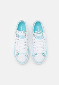 Converse - CHUCK TAYLOR ALL STAR DOUBLE UPPER FLORAL - Zapatillas - white/bleached cyan/court green - 3
