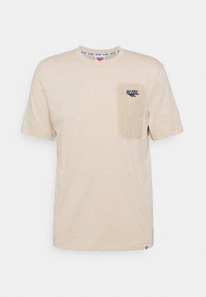 AMOS - Basic T-shirt - humus