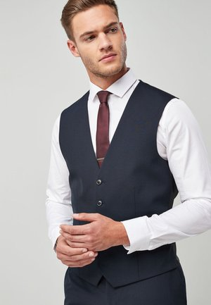 STRETCH  - Suit waistcoat - dark blue