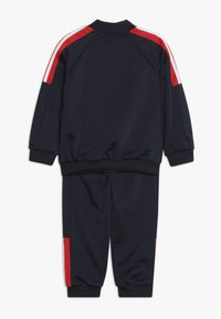 adidas Performance - SHINY TRACKSUIT BABY SET - Tuta - legend ink/vivid red/white - 1