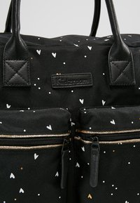 Kidzroom - DIAPERBAG - Baby changing bag - black - 7