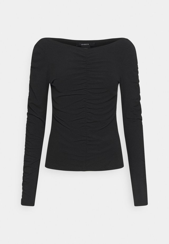 ROBYN - Long sleeved top - black