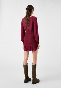 PULL&BEAR - Day dress - bordeaux - 2