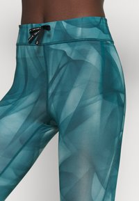 Nike Performance - RUN 7/8 - Leggings - dark teal green/silver - 4