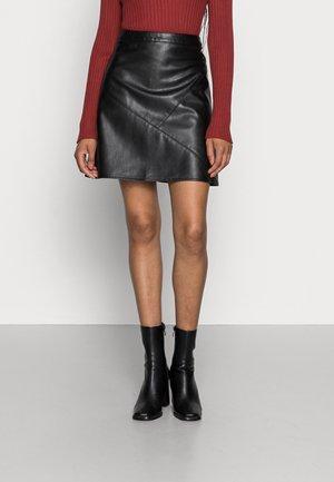 Mini skirt - deep black