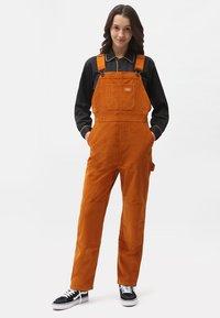 Dickies - HIGGINSON - Overall /Buksedragter - pumpkin spice - 0