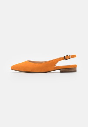 TETZI - Slingback ballet pumps - papaya
