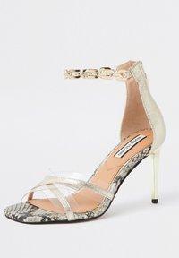 River Island - High heeled sandals - yellow - 2