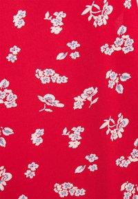 Pieces Petite - PCNYA SLIP DRESS - Korte jurk - goji berry - 2