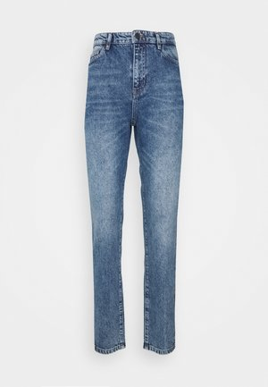 OBJCAROLINE NON STRETCH  - Straight leg jeans - light blue denim
