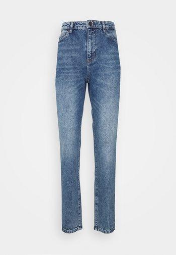 OBJCAROLINE NON STRETCH  - Straight leg jeans - light blue denim