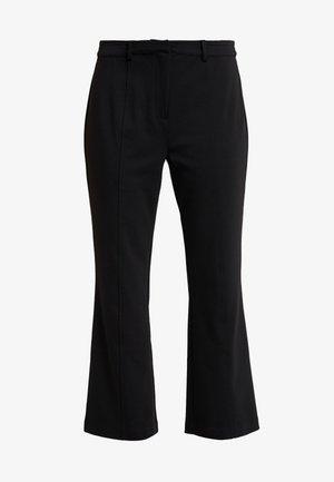 ZIA PANTS - Trousers - pitch black
