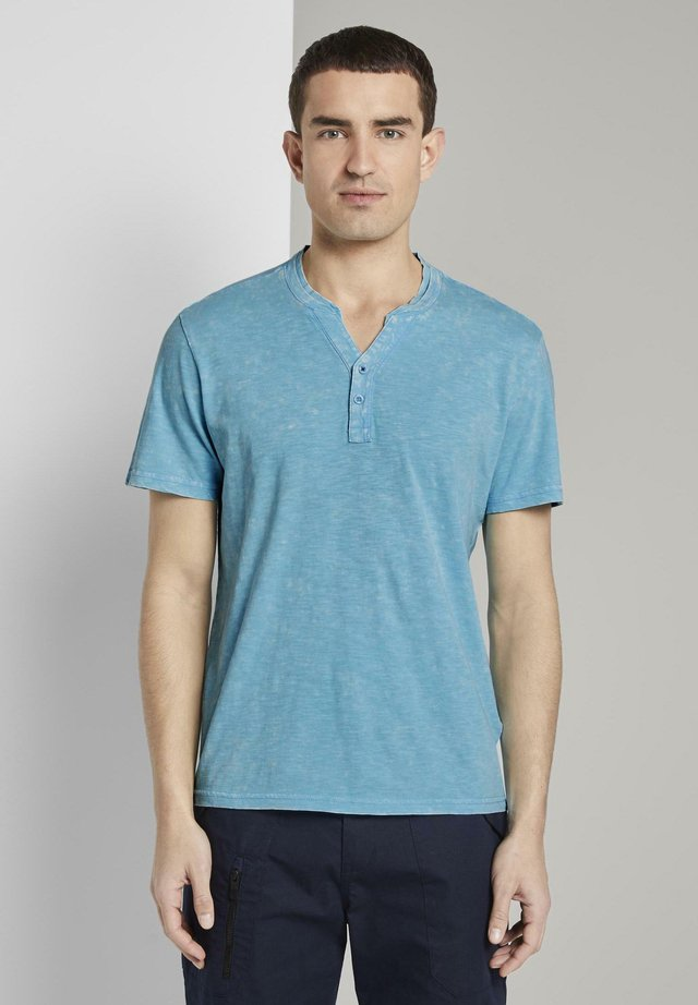 T-shirt con stampa - crystal sea blue