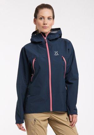 SPIRA - Hardshell jacket - tarn blue