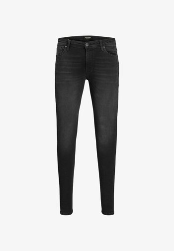 SKINNY FIT TOM ORIGINAL JOS 010 SPS - Jeans Skinny Fit - black denim