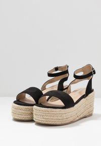Koi Footwear - VEGAN  - Espadrilky - black - 3