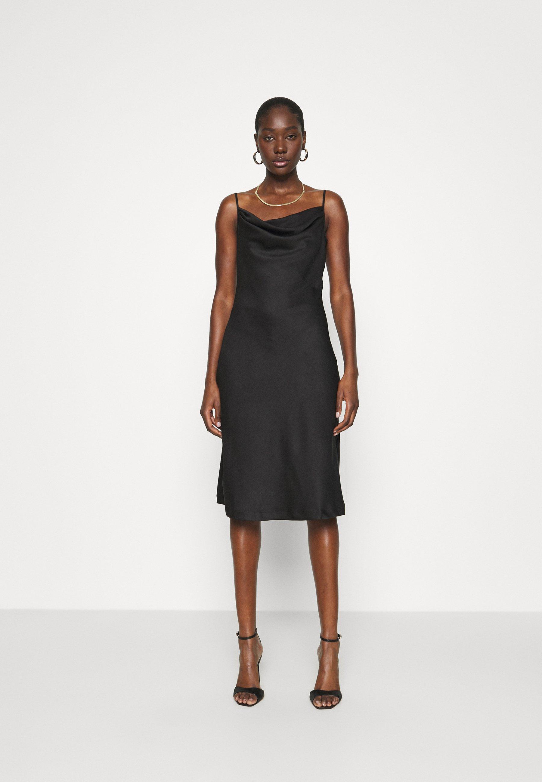 Women CLOSET COWL NECK SLIP DRESS - Shift dress