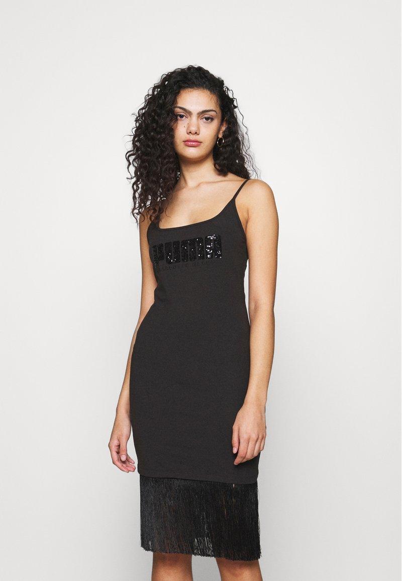 Puma - CLASSICS DRESS - Vestido ligero - black