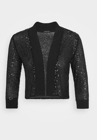 Swing - BOLERO PAILLETTE - Blazer - black