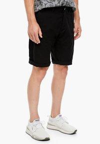 s.Oliver - Shorts - black - 4
