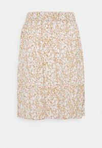 Modström - ISA PRINT SKIRT - A-line skirt - beige - 1