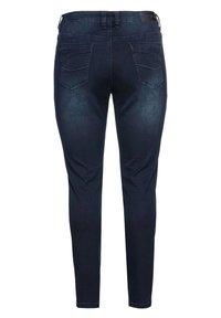 Sheego - Slim fit jeans - blue black denim - 5