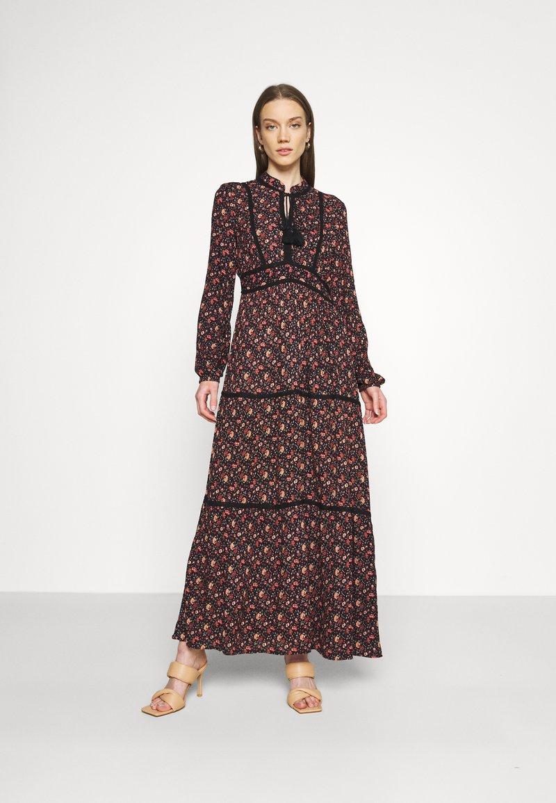 Vero Moda - VMALICE ANCLE DRESS - Maxi dress - navy blazer