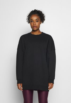MALVA OVERSIZED CREW - Sweatshirt - black beauty