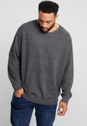 JJEHILL   - Jumper - dark grey melange