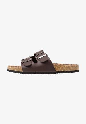 FOOTWEAR - Slippers - coffee bean brown