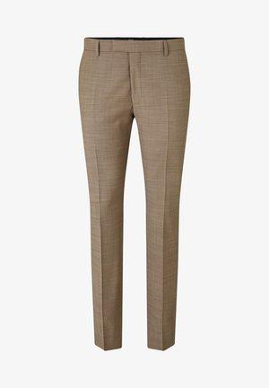GUN - Suit trousers - beige