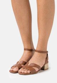 Divine Factory - Sandals - camel - 0
