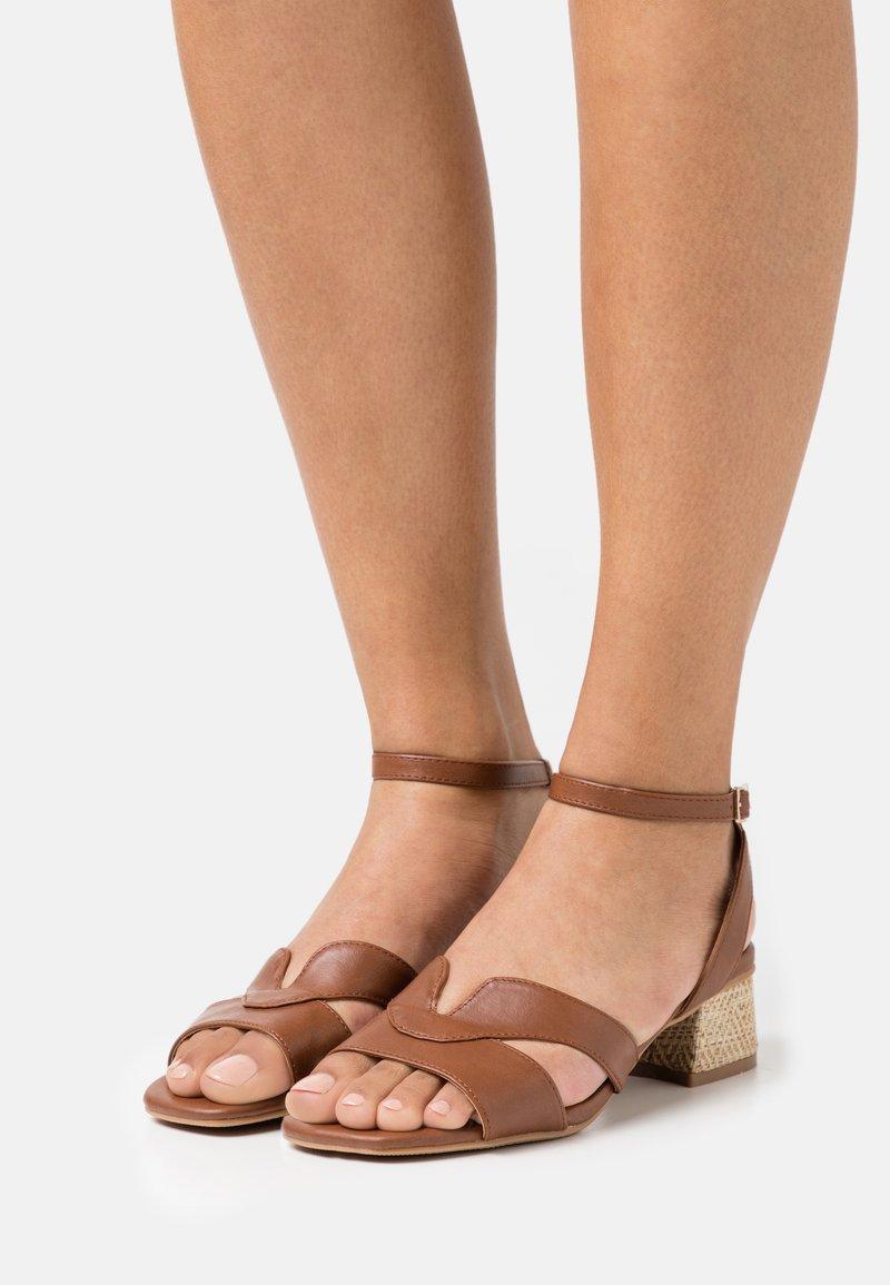 Divine Factory - Sandals - camel