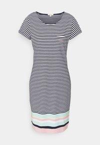 Barbour - HAREWOOD STRIPE DRESS - Žerzejové šaty - navy - 5