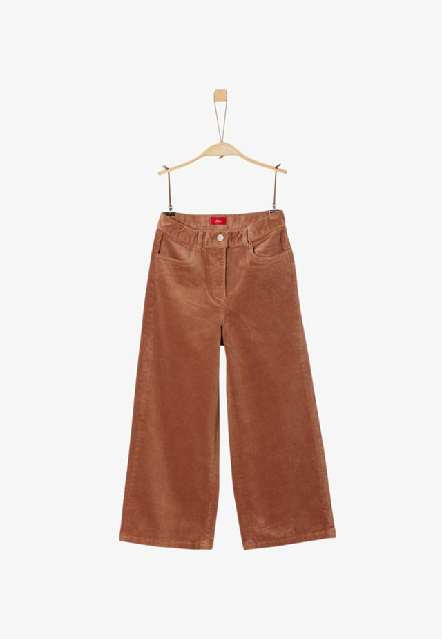 CULOTTE - Trousers - city brown