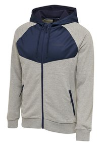 Hummel - Zip-up hoodie - mottled grey - 2
