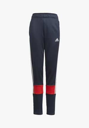 STRIPES AEROREADY PRIMEBLUE JOGGERS - Trainingsbroek - blue