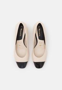 Tamaris - Classic heels - ivory/black - 5