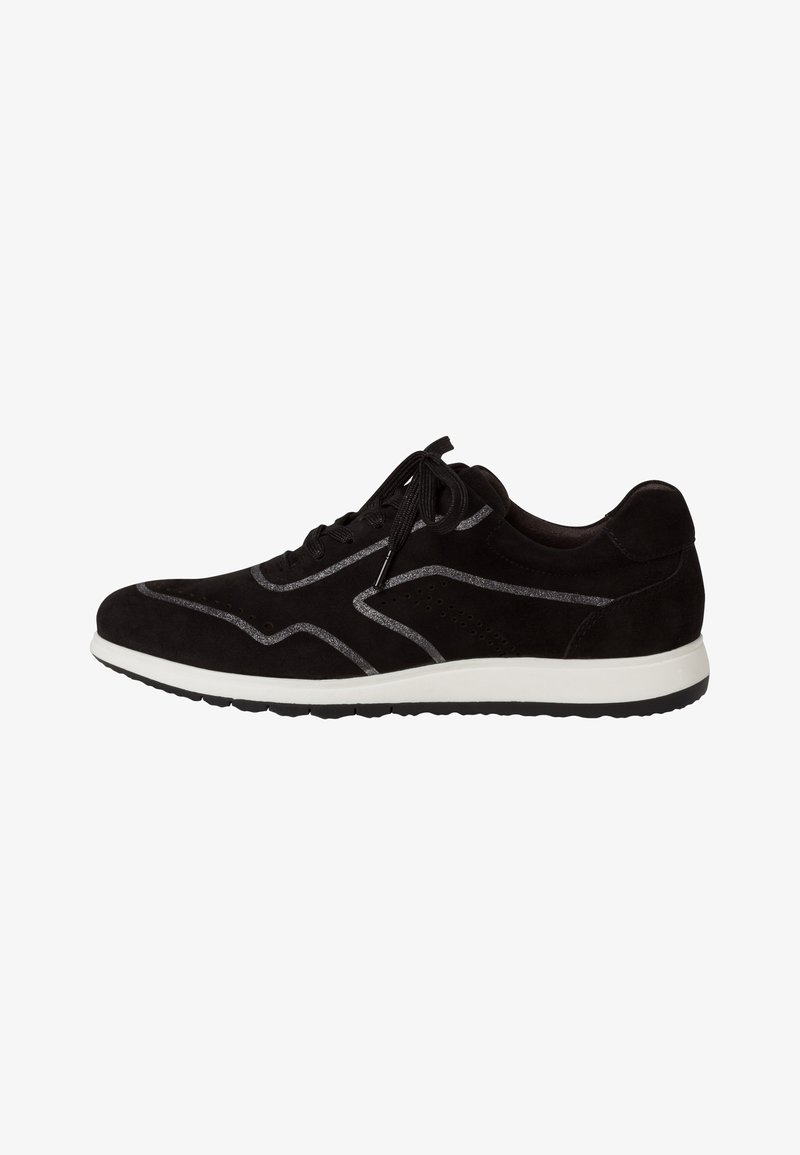 Tamaris Pure Relax - LACE UP - Trainers - black