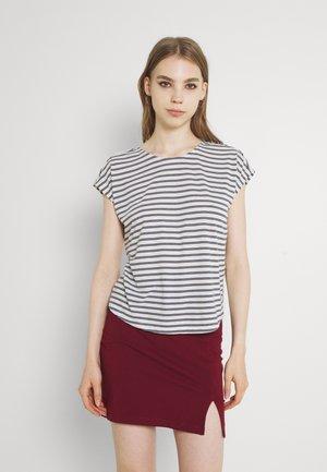 VMALONA - Basic T-shirt - navy blazer/white