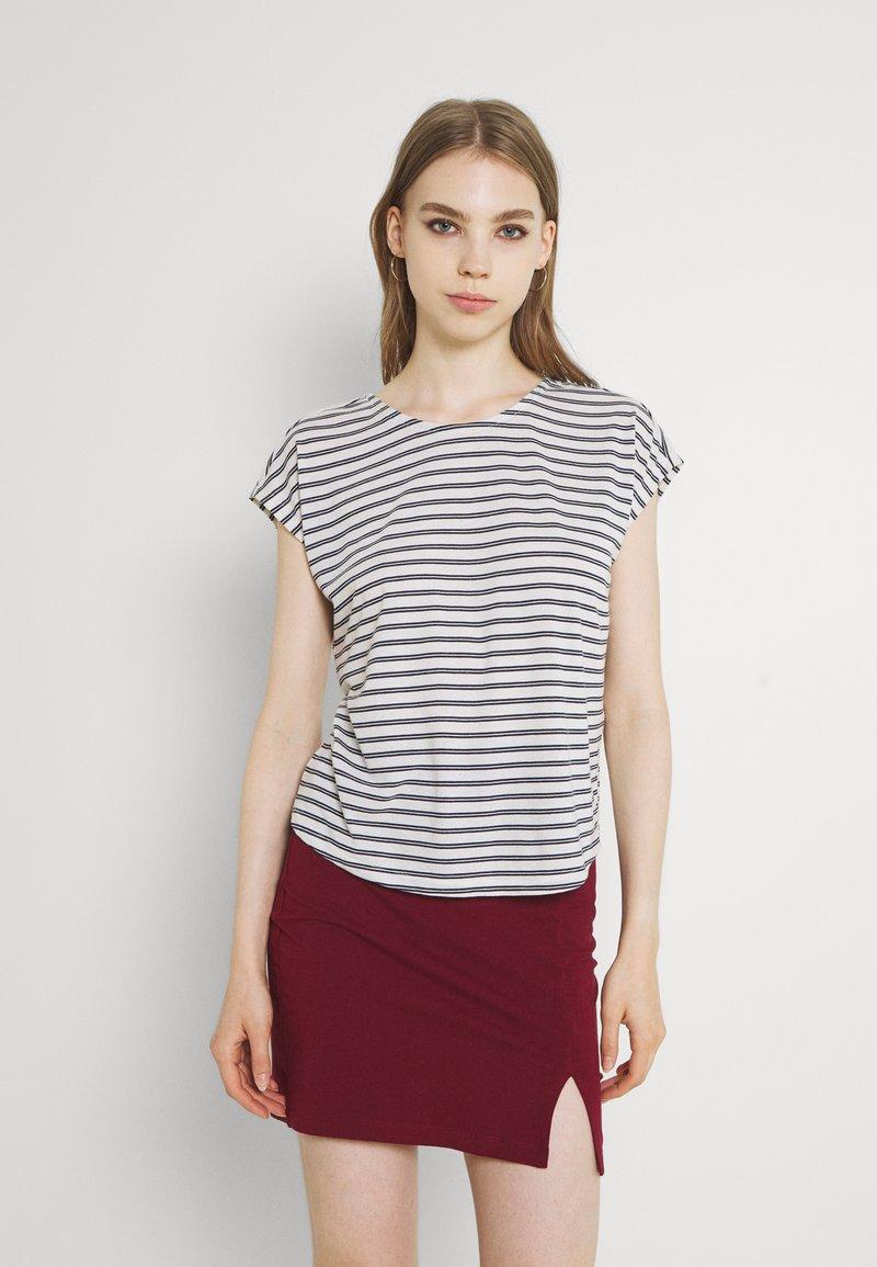 Vero Moda - VMALONA - Basic T-shirt - navy blazer/white