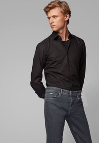 BOSS - CHARLESTON - Slim fit jeans - anthracite - 3