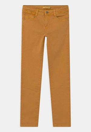 Slim fit -farkut - honey yellow