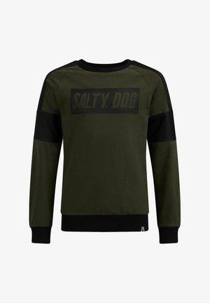 Sweater - moss green