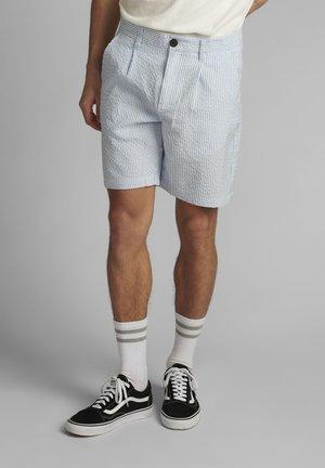 AKLT JAN SEERSUCKER - Shorts - sky blue