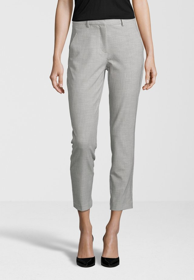 HOSE KYLIE CROP - Broek - smoke teardrops