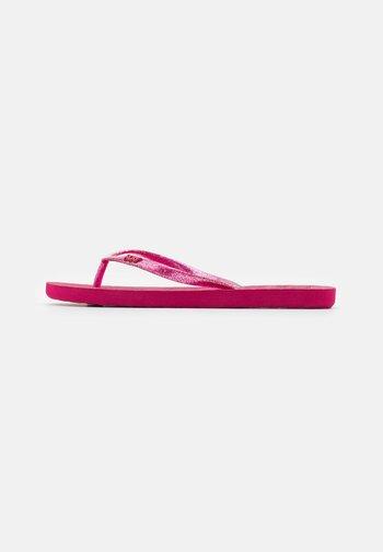 VIVA SPARKLE  - Pool shoes - cerise