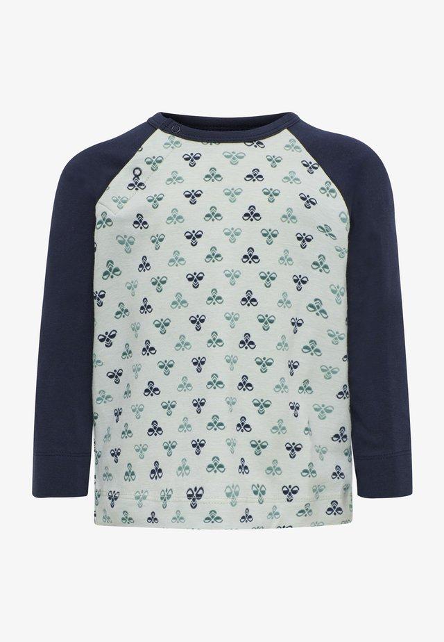 Langærmede T-shirts - black iris