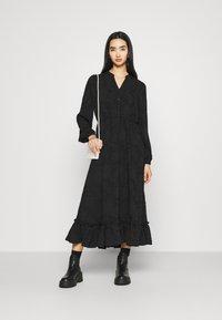 ONLY - ONLEVA MIDI DRESS - Maxi šaty - black - 1