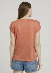 TOM TAILOR DENIM - T-shirt basic - sundown coral - 2